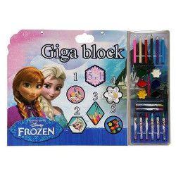 Giga block à dessin + stickers et accessoires Jouets et kermesse WA2056288