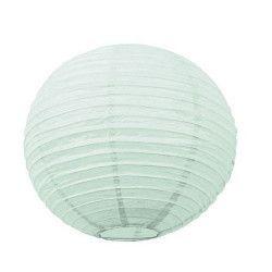 Lanterne japonaise menthe claire 15 cm Déco festive 50280S