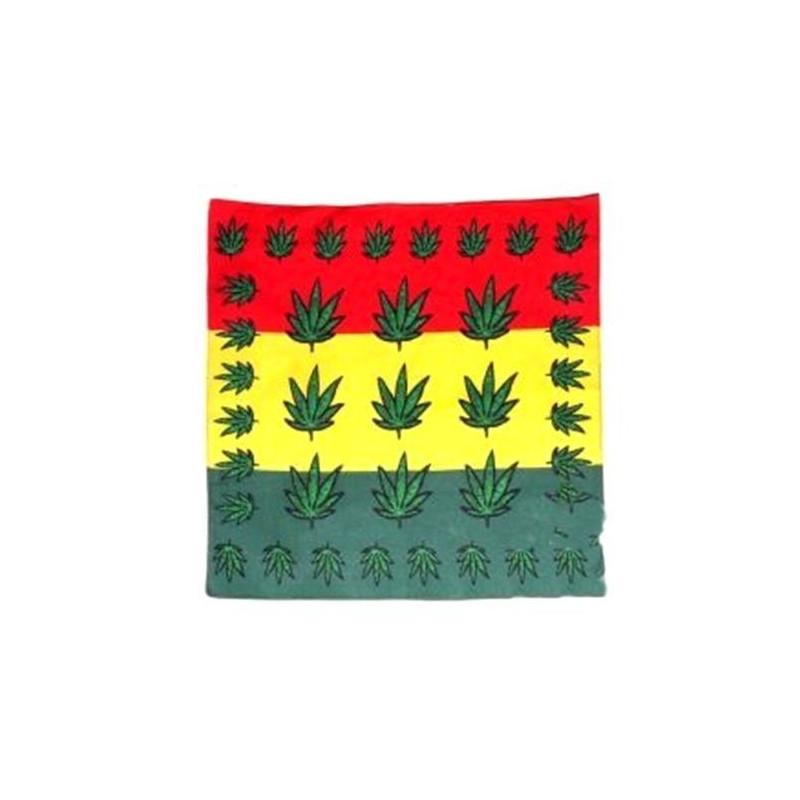 Bandana rasta rouge jaune vert Accessoires de fête LP00575