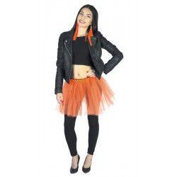 Accessoires de fête, Tutu orange fluo 35 cm, 333022, 4,90€