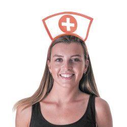Serre-tête infirmière Accessoires de fête 333193