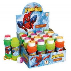 Lot de 16 maxi bulles de savon Spiderman 175 ml Jouets et kermesse 15140