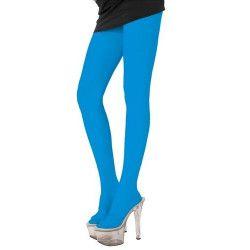 Accessoires de fête, Collants bleus adulte, 87270044, 5,90€