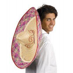 Chapeau sombrero mexicain 70 cm Accessoires de fête 95413