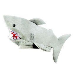 Chapeau requin en peluche adulte Accessoires de fête 99902