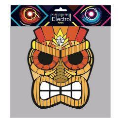 Accessoires de fête, Masque electro Tiki halloween, MAS-E06, 29,90€