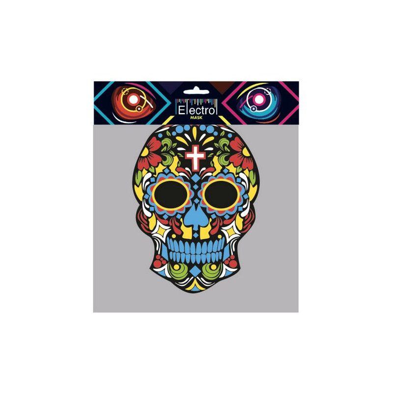 Accessoires de fête, Masque electro Day of the Dead halloween, MAS-E09, 29,90€