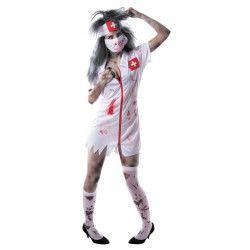 Déguisements, Déguisement infirmière zombie taille M, 86557, 19,90€