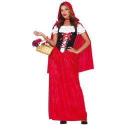 Déguisements, Déguisement Chaperon Rouge femme taille L, 88583, 29,90€