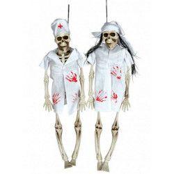 Figurine squelette infirmier Déco festive 19678