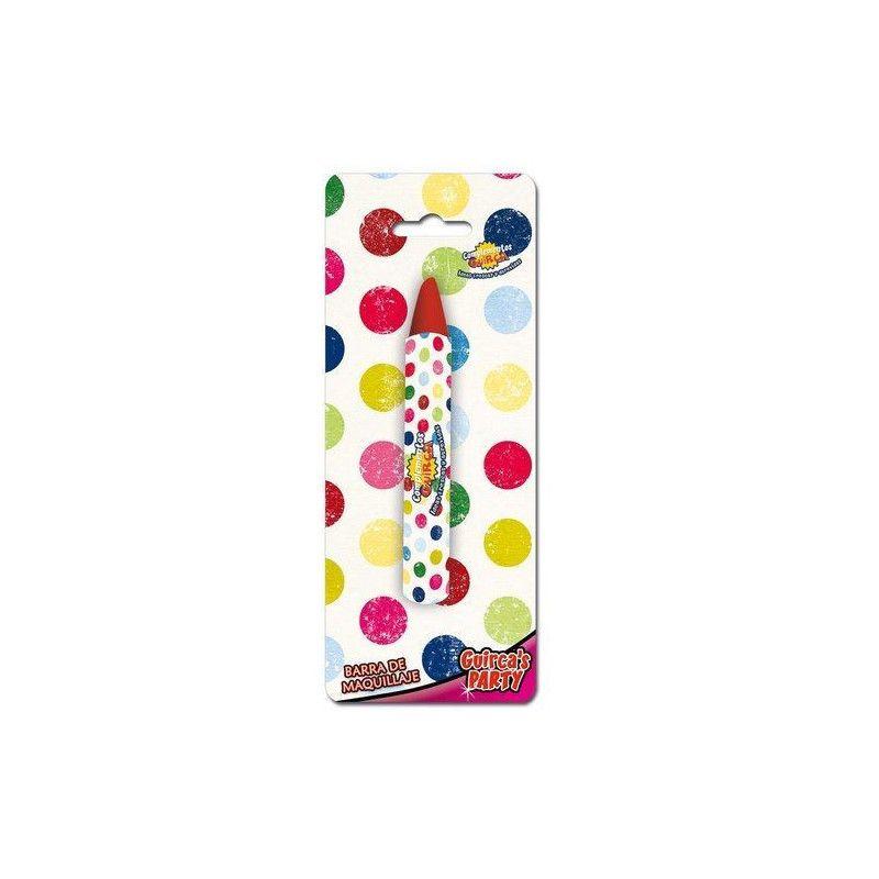 Crayon de maquillage rouge gras Accessoires de fête 15221
