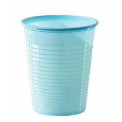 Lot 50 gobelets plastique bleu pastel 20 cl Déco festive V40204BP