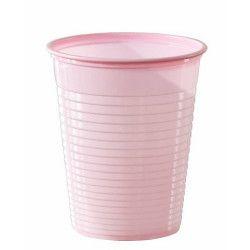 Lot 50 gobelets plastique rose pastel 20 cl Déco festive V40204RP