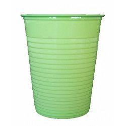 Lot 50 gobelets plastique vert anis 20 cl Déco festive V40204VA