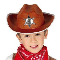 Chapeau shérif enfant Accessoires de fête 13559