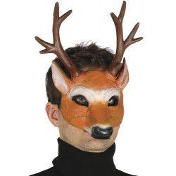 Accessoires de fête, Demi masque cerf mousse, 2418, 10,50€