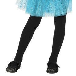 Collants noirs opaque enfant taille 5-9 ans Accessoires de fête 17340