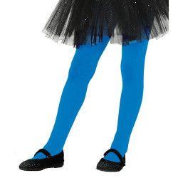 Collants bleus opaque enfant taille 5-9 ans Accessoires de fête 17345