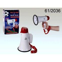 Mégaphone porte voix 5 watts Déco festive 61-2036