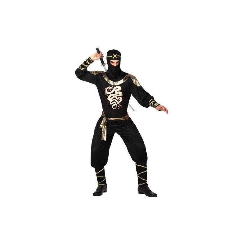 Déguisement ninja noir homme taille XL Déguisements 15291
