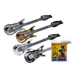 Jouets et kermesse, Guitare gonflable 90 cm, 91/4168, 2,90€