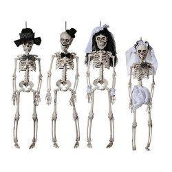 Squelette halloween à suspendre 40 cm Déco festive 98/2050