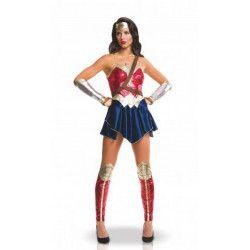 Déguisement Wonder Woman Justice League™ femme taille L Déguisements I-820953L