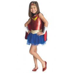 Déguisement classique Wonder Woman™ fille 7-9 ans Déguisements I-881629L