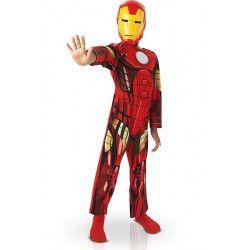 Déguisements, Déguisement Iron Man Assemble™ garçon taille 7-9 ans, I-887750L, 24,90€