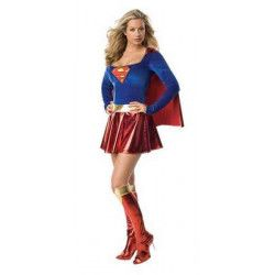 Déguisements, Déguisement luxe Supergirl™ sexy femme taille S, I-888239S, 59,90€