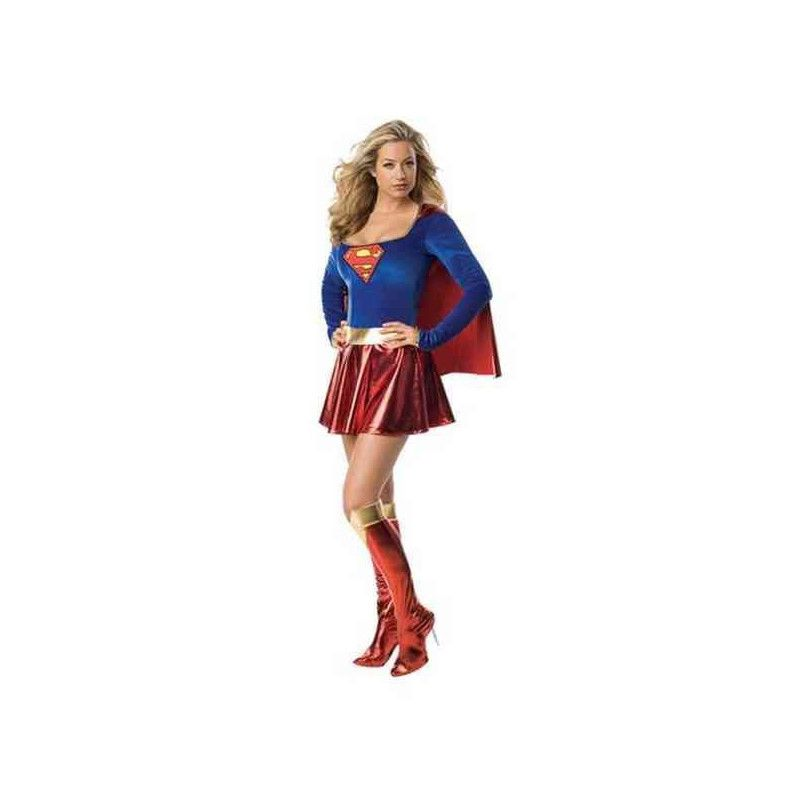 Déguisements, Déguisement luxe Supergirl™ sexy femme taille XS, I-888239XS, 59,90 €