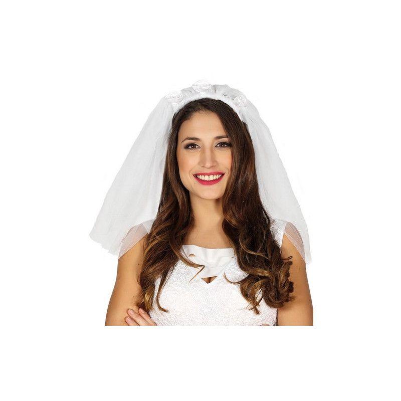 Voile blanc de mariée Accessoires de fête 17412