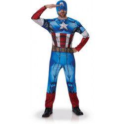 Déguisements, Déguisement classique Captain America™ homme XL, I-810845XL, 39,90€
