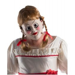 Masque et perruque Annabelle adulte Accessoires de fête I-39024