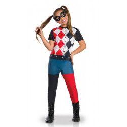 Déguisement classique Harley Quinn™ fille 7-8 ans Déguisements I-640075L