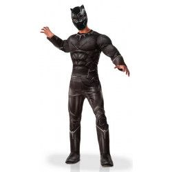 Déguisements, Déguisement luxe Black Panther™ homme taille M/L, I-810969STD, 72,50€