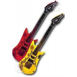Jouets et kermesse, Guitare gonflable, 6386, 2,50€