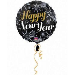 Déco festive, Ballon hélium Happy New Year, 2724901, 3,90€