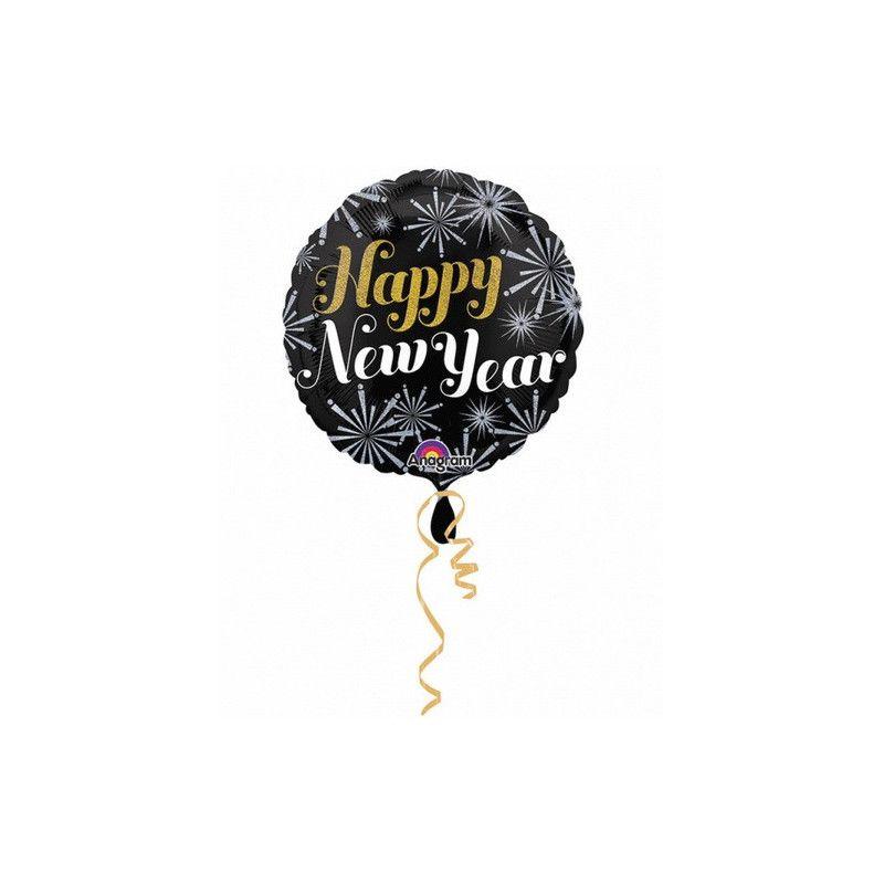 Ballon hélium Happy New Year Déco festive 2724901