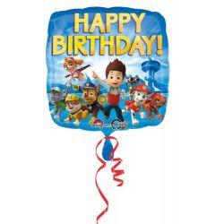Ballon aluminium anniversaire La Pat'Patrouille™ 43 cm Déco festive 3018001