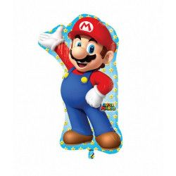 Ballon aluminium Super Mario™ 83 cm Déco festive 3201001