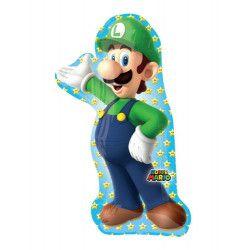 Ballon aluminium Luigi™ 96 cm Déco festive 3483701