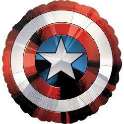 Ballon aluminium Bouclier Avengers™ 71 cm Déco festive 3484101