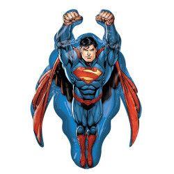 Ballon aluminium Superman™ 86 cm Déco festive 3553701