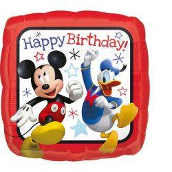 Déco festive, Ballon aluminium anniversaire Mickey™ 43 cm, 3622501, 3,90€