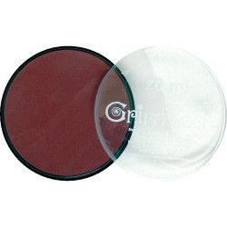 Fard maquillage Chocolat galet 20 ml Accessoires de fête GT41197