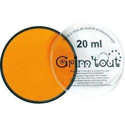 Accessoires de fête, Fard maquillage Jaune Soleil galet 20 ml, GT41198, 6,95€