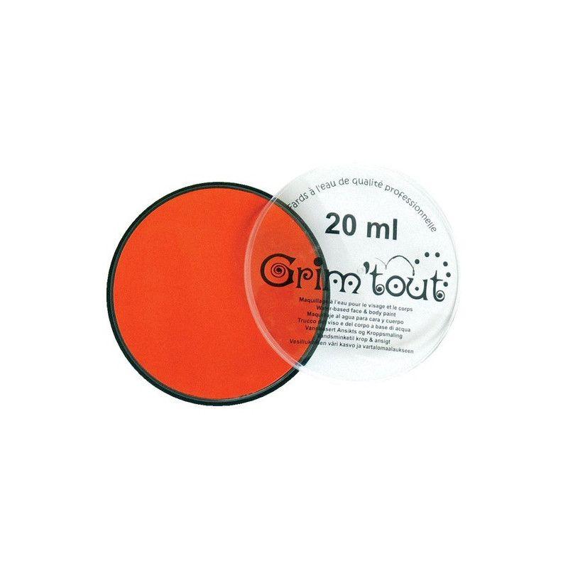 Fard maquillage Mandarine galet 20 ml Accessoires de fête GT41200