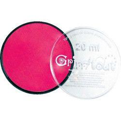 Fard maquillage Rose Vif galet 20 ml Accessoires de fête GT41201