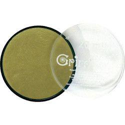 Accessoires de fête, Fard maquillage Or Métallique galet 20 ml, GT41204, 7,90€